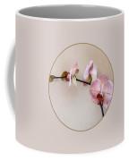 Delicate Pink Phalaenopsis Orchids Coffee Mug