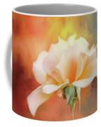 Delicate Rose On Color Splash Coffee Mug
