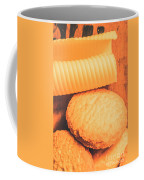 Delicious Cookies With Piece Of Butter Coffee Mug