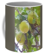 Delicious Yellow Apple In Summer Coffee Mug