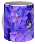 Delphinium Blue Coffee Mug