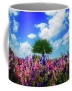 Delphinium Daydreams Coffee Mug