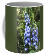Delphinium Painterly Coffee Mug
