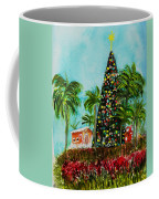 Delray Beach Christmas Tree Coffee Mug