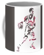 Demar Derozan Toronto Raptors Pixel Art 7 Coffee Mug