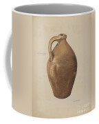 Demi-john Pottery Coffee Mug