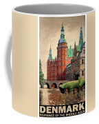 Denmark, Castle, Romance Of The Middle Ages Poster Coffee Mug