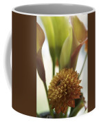 Denmark Close Up Brown Dahlia Coffee Mug