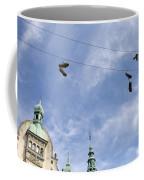 Denmark, Copenhagen, Amager Torv, Shoes Coffee Mug