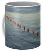 Denmark Red Safety Balls Floating Coffee Mug by Keenpress