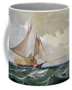 Denny: Hay Schooner, 1871 Coffee Mug