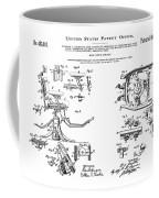 Dentists Chair Patent 1892 Coffee Mug