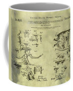 Dentists Chair Patent 1892 In Vintage  Coffee Mug