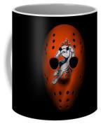 Denver Broncos War Mask 2 Coffee Mug