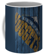 Denver Nuggets Wood Fence Coffee Mug