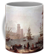 Departure Of Ulysses From The Land Of The Feaci  Coffee Mug