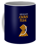A Broken Frame Logo With Name Coffee Mug
