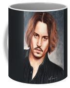Depp Coffee Mug by Bruce Lennon