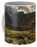 Der Hintere Murgsee. St. Galler Alpen. 1878 Coffee Mug