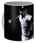 Derek Jeter Coffee Mug by Paul Ward
