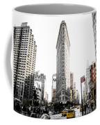 Desaturated New York Coffee Mug