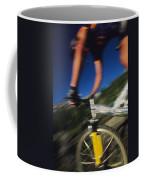 Descending A Mountain Trail Into Yankee Coffee Mug