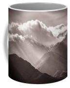Descending Rays Coffee Mug