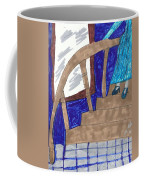 Descending The Stairs Coffee Mug
