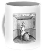 Descent Into The Laundry Room Coffee Mug