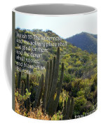 Desert Blossoms As The Rose Coffee Mug