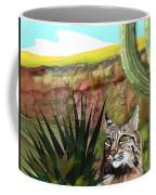 Desert Bobcat Coffee Mug