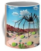 Desert Bug Coffee Mug by Snake Jagger