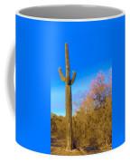 Desert Duo In Bloom Coffee Mug