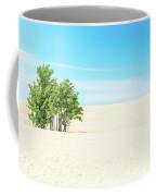 Desert Green Trees Coffee Mug