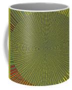 Desert Marigold Flowers Abstract #2 Coffee Mug