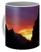 Desert Mountain Sunset Coffee Mug