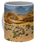 Desert Sandstone Cliffs Valley Of Fire Coffee Mug
