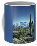 Desert Snow Coffee Mug