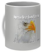 Desert Storm Eagle Coffee Mug