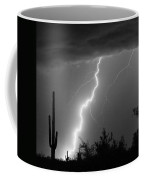 Desert Striking In Black And White Coffee Mug