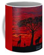 Desert Sunset 3 Coffee Mug
