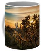 Desert Sunshine Shining Through  Coffee Mug