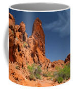 Desert Tower Valley Of Fire Coffee Mug