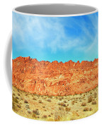 Desert Valley Of Fire Coffee Mug