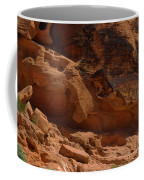 Desert Varnish Petroglyphs Valley Of Fire Coffee Mug