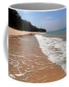 Deserted Shore Of The Island Of Tioman Coffee Mug
