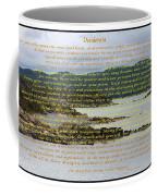 Desiderata Rugged Coastline Coffee Mug