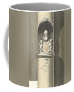 Design For A Monument To C. Brunings A Bust In A Niche, Bartholomeus Ziesenis, 1806 Coffee Mug