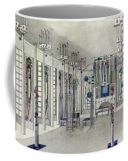 Design For A Music Room With Panels By Margaret Macdonald Mackintosh Coffee Mug