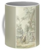 Design For A Room Piece Dorinda Returns Silvio His Dog, Dionys Van Nijmegen, 1715 - 1798 Coffee Mug